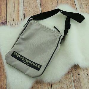 Emporio Armani Parfums Crossbody Shoulder Bag